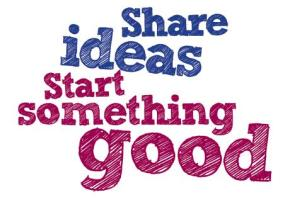 share%20ideas%20start%20something%20good